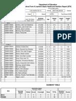 School Form 8 SF8 (G5)