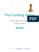 The Funding Game - From Idea to Funding in 10 Steps