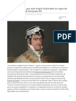 elpais.com-Si era El Deseado por qué ningún historiador es capaz de decir algo bueno de Fernando VII
