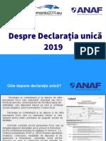 Declaratie Unica Anaf
