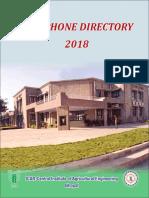 Ciae Telephone Directory