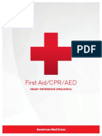 First Aid/CPR/AED Ready Reference (Pediatric)