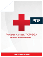 First Aid/CPR/AED Ready Reference (Pediatric - Spanish)