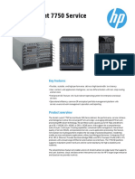Alcatel Lucent 7750 Service Router Series DataSheet