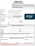 PRMO Registration Form 2019