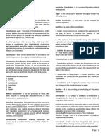 Suarez Political Law Reviewer Notes