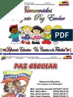 Proyecto Paz Escolar