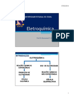 Aula Eletroquimica -Prof. Emmanuel Marinho