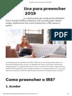 Guia Prático_ Saiba Como Preencher o IRS Em 2019