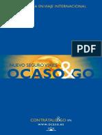 Conciciones Generales Asistencia en Viaje Internacional - Ocaso and Go - Sin Valor Contractual