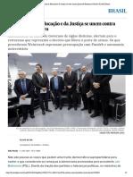 Ex-ministros da Educação e da Justiça se unem contra planos de Bolsonaro _ Brasil _ EL PAÍS Brasil