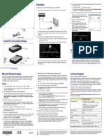 Netgear Push2TV - Wireless Display Adapter PTV3000-100NAS