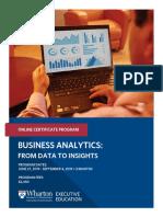 Brochure Wharton Business Analytics 03 May 19 V36
