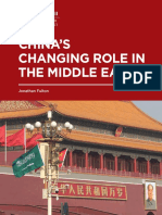 China's Changing Role in the Middle East