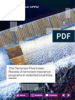 Terrorism Pool Index Nov