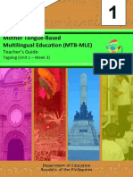 MTB–MLE 1 Tagalog Week 3