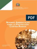 Normas Ambientales para la Proteccion Contra Ruidos