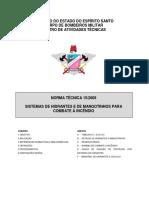 NT 15-2009 - Sistema de Hidrantes e Mangotinhos.pdf