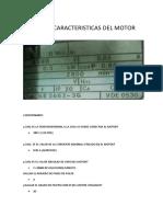 Placa Caracteristicas Del Motor