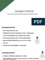 Iluminação Artificial