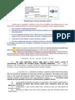 Trabalho Prova ReOferta - Estrutura de Dados - UFPI 2018 4