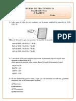 Prueba de Diagnostico-Matematica 4to.doc