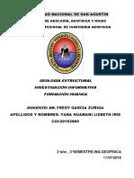 Informe de Huanca