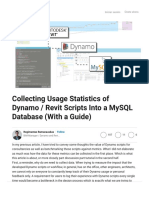 Collecting Usage Statistics of Dynamo _ Revit Scripts Into a MySQL Database (With a Guide).pdf