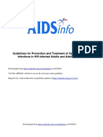 Adult HIV Notes On Guidelines