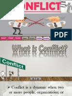 Conflict Presentation