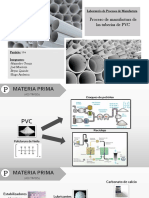 Elaboracion de Tubos PVC