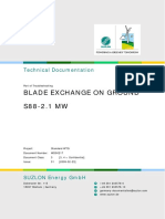Blade Exchange on Ground WD 00217 01 00
