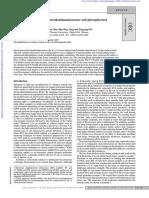 Arylethynylacridines, Electrochemiluminescence and Photophysical Properties - UV