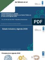 Presentación 1. Estado Inclusivo y ODS, Propuesta Sello RD