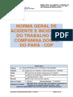 Ng 5401-03.00 Acidente e Incidente Do Trabalho Cdp-.