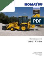 Catalogo Retroexcavadora Wb97r 5e0