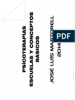 352010908 Martorell 2014 Psicoterapias Escuelas y Conceptos Basicos