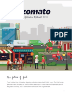 Zomato Annual Report