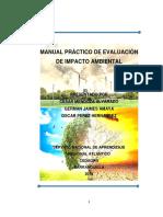 Manual de Evaluacion de Impactos Ambientales