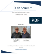 2017 Scrum Guide Spanish (European)