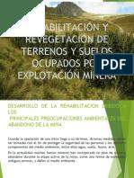 Exposición de Rehabilitación y Revegetación de Terrenos y Suelos Ocupados