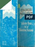Congreso pedagógico