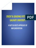 Credit and Grading System
