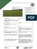location recce sheepcot field