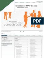 1-Mxp Series Administrator Guide f90 Incl-full-menu-structure