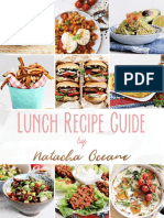 Natacha Oceane Lunch Guide