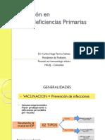 Carlos Hugo Torres Salinas - Vacunación en Inmunodeficiencias primarias
