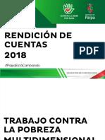 Rendicion de Cuentas Paipa 2018