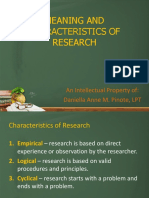 2. Meaning of Research and Its Characteristics