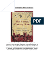 Roman Cooking Recipes by Apicius-B.I.S. Erasmus+ project